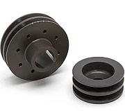 Racing Beat Alternator & Main Drive Pulley Set (Double Sheave) 1974-1992 Mazda RX-7 12A, 13B