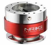 NRG Quick Release Kit Gen 1.0 (Silver Body / Red Ring)