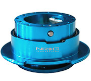 NRG Quick Release Kit Gen 2.5 (New Blue Body / New Blue Ring)