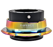 NRG Quick Release Kit Gen 2.8 (Black Body / Diamond Cut Neochrome Ring)