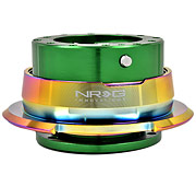 NRG Quick Release Kit Gen 2.8 (Green Body / Diamond Cut Neochrome Ring)