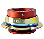 NRG Quick Release Kit Gen 2.8 (Red Body / Diamond Cut Neochrome Ring)