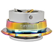 NRG Quick Release Kit Gen 2.8 (Silver Body / Diamond Cut Neochrome Ring)