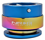NRG Quick Release Kit Gen 2.0 (Blue Body / Neochrome Ring)