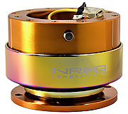 NRG Quick Release Kit Gen 2.0 (Rose Gold Body / Neochrome Ring)