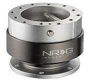 NRG Quick Release Kit Gen 2.0 (Gun Metal Body / Titanium Chrome Ring)