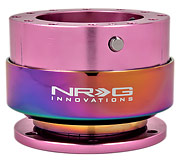 NRG Quick Release Kit Gen 2.0 (Pink Body / Neochrome Ring)