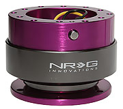 NRG Quick Release Kit Gen 2.0 (Purple Body / Titanium Chrome Ring)