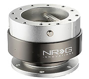 NRG Quick Release Kit Gen 2.0 (Silver Body / Titanium Chrome Ring)