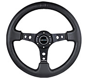 "NRG Sport Steering Wheel 350MM 3"" Deep (Leather)"